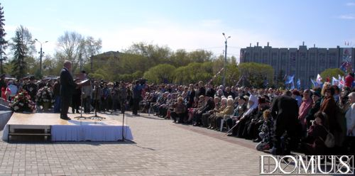 Opening of the monument. Speech by the Governor