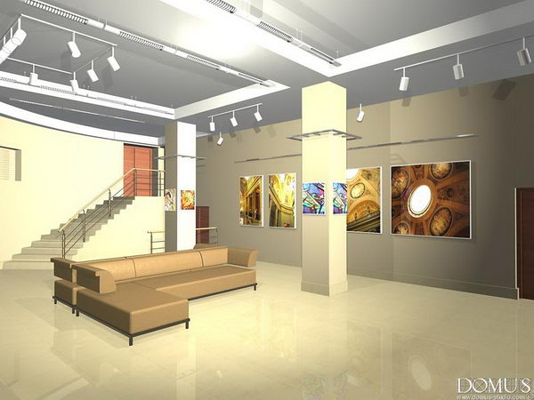 Design exhibition hall theatre