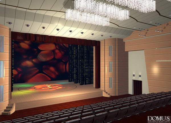 Interior Design Dramatic Theatre