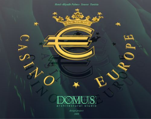 Logo design for casino